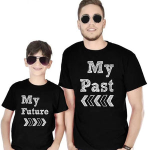 608064867 Dad & Son Matching T-Shirt - Matching Father & Son Tees Online