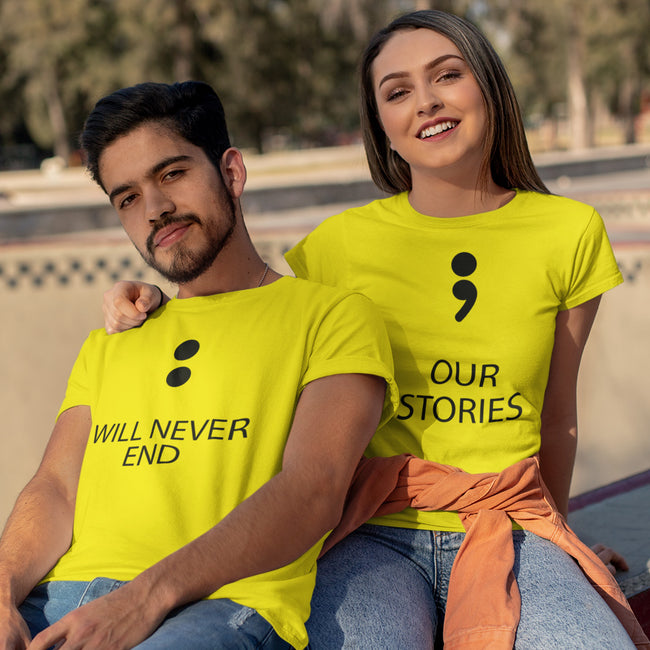 Our Stories Couple Tee