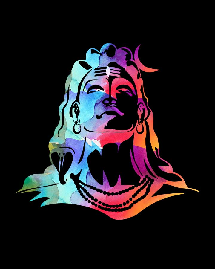 Shiva Rainbow Art T-Shirt