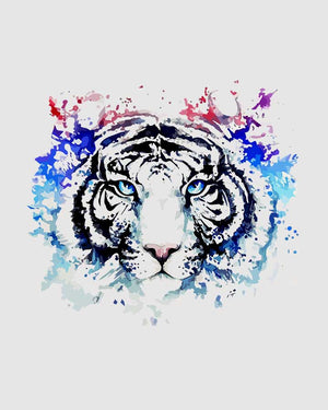 Tiger Splash Art T-Shirt