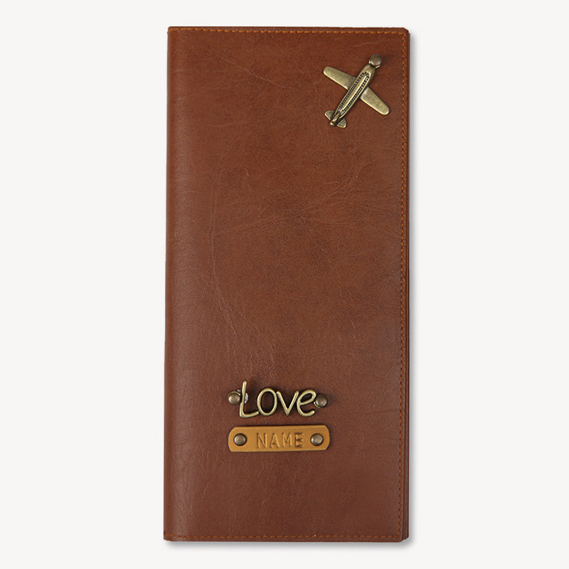 Light Brown Travel Wallet