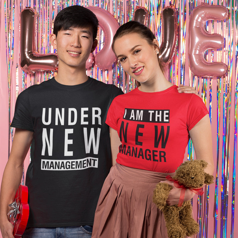 New Management Couple Tee