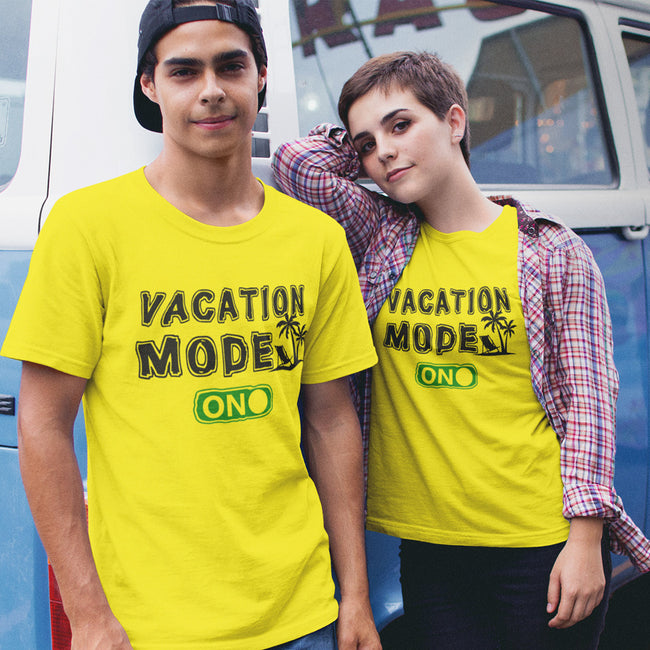 Vacation Mode Couple Tee