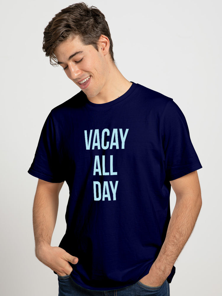 Vacay All Day Couple Tee