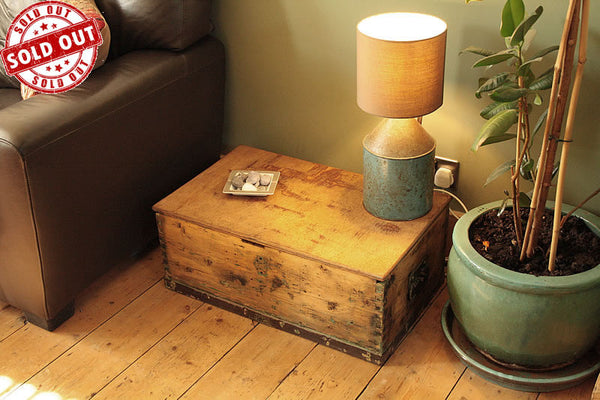 1939 Vintage Chest/Trunk Coffee Table - Arte Povera - 1