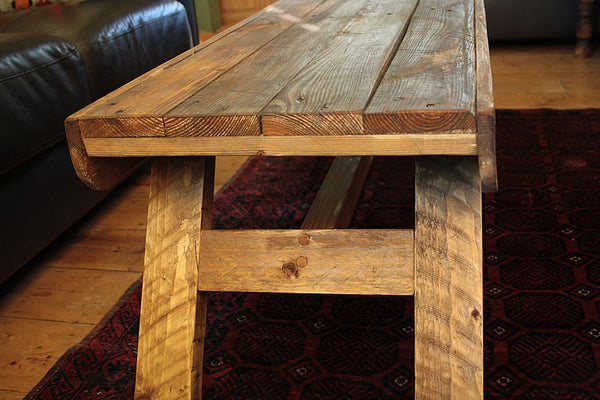 Nordic Look Wooden Coffee Table Made With Pallet Wood