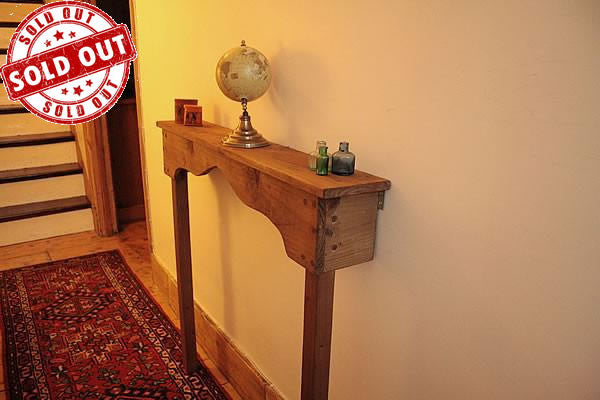 Handmade Narrow Table Hallway Console - Arte Povera - 1