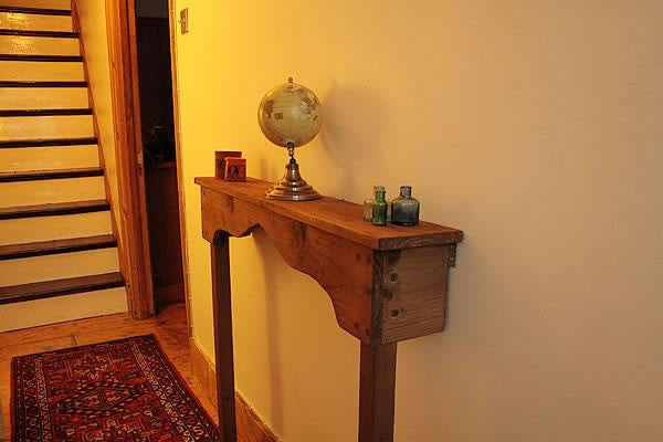 Handmade Narrow Table Hallway Console
