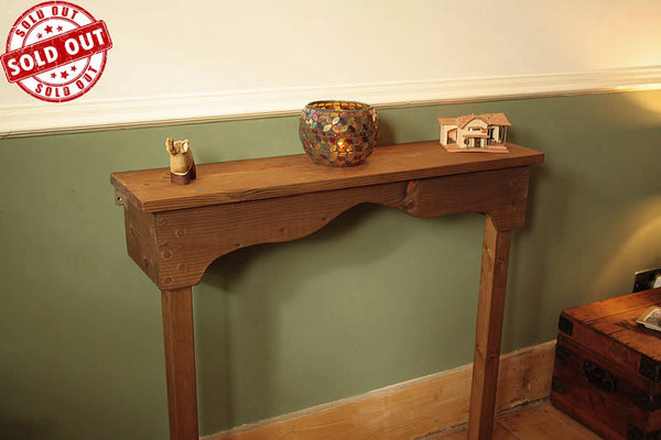 Console Table Hallway Kitchen Handmade With Reclaimed Timber