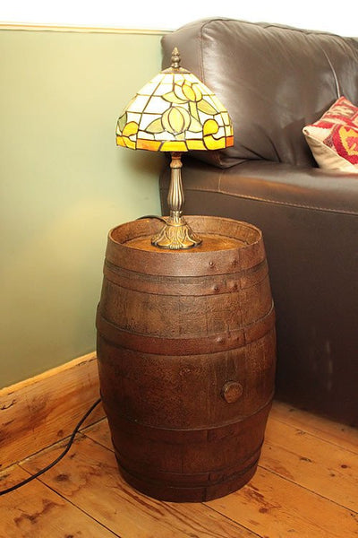 French Vintage Wooden Barrel Restored - Arte Povera - 6