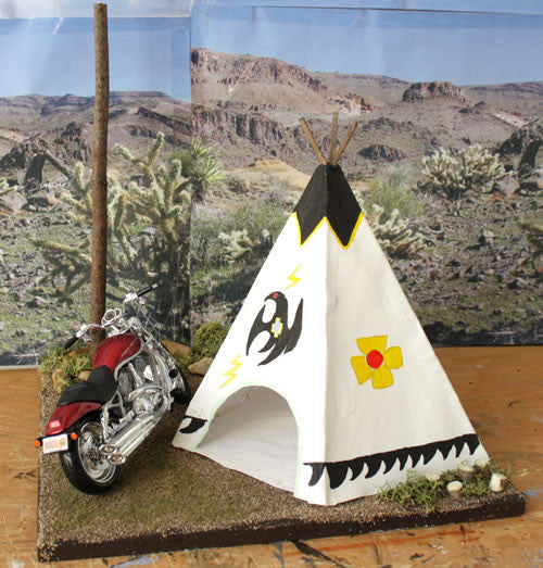Geronimo Stop Arizona Route 66 - Scale 1/18 - Arte Povera - 3
