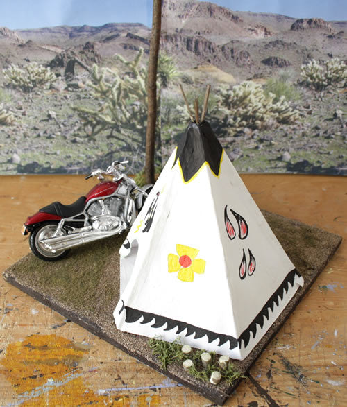 Geronimo Stop Arizona Route 66 - Scale 1/18 - Arte Povera - 4