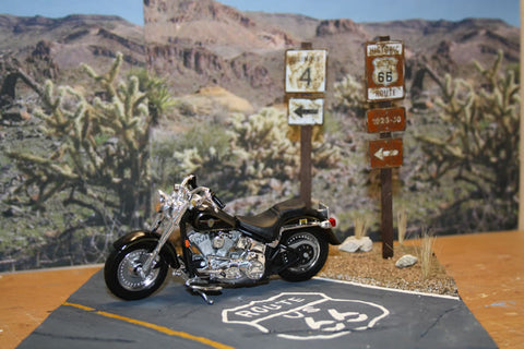 Route 66 road - Scale 1/18