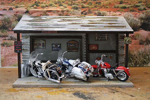 Diner Stop On Route 66 - Scale 1/18