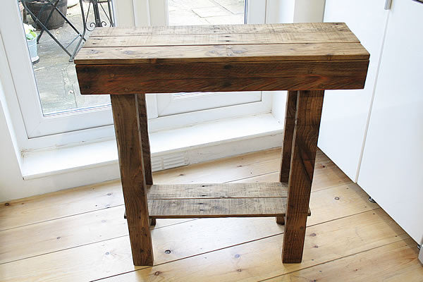 Kitchen Table Island Breakfast Bar Made With Pallet Wood