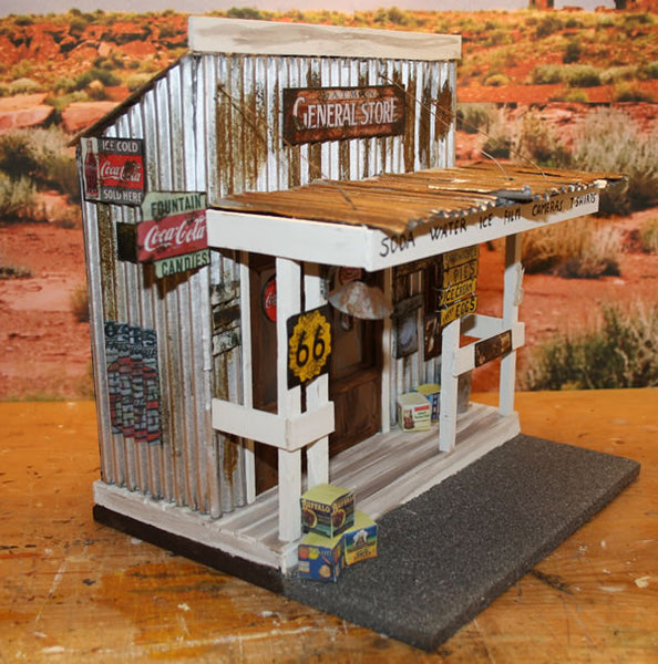 Outman General Store Diorama - Scale 1/18