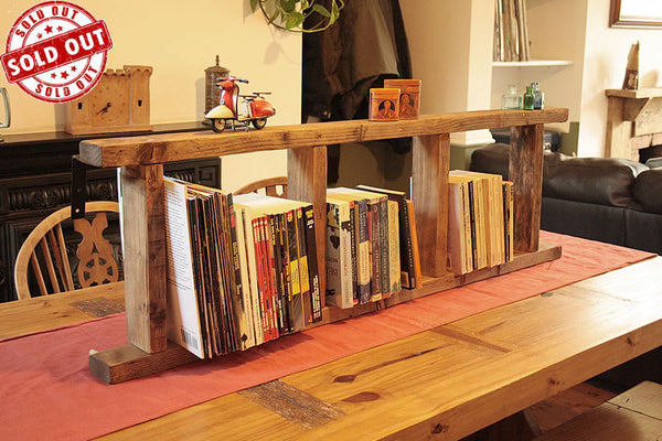 Ladder Bookshelves Made With Pallet Wood - Arte Povera - 1