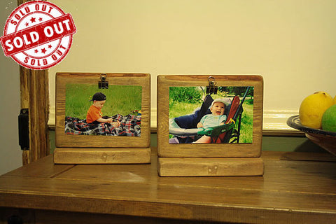 Picture Frame Rustic From Reclaimed Wood - Arte Povera - 1