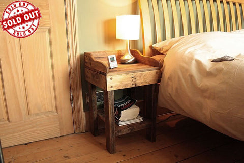 Side Table BedsideTable Made With Pallet Wood