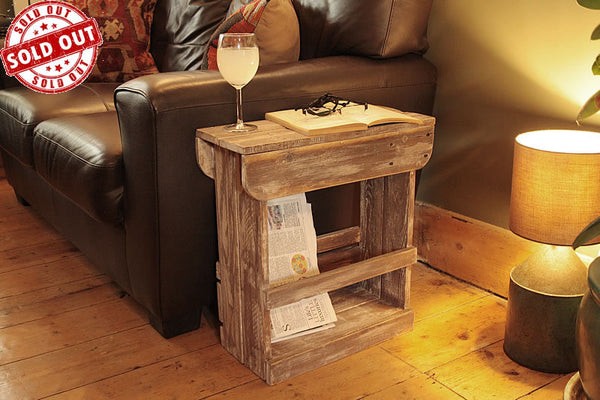 Handmade Sofa Table Bathroom Cabinet Bedside Table Shabby Chic - Arte Povera - 1