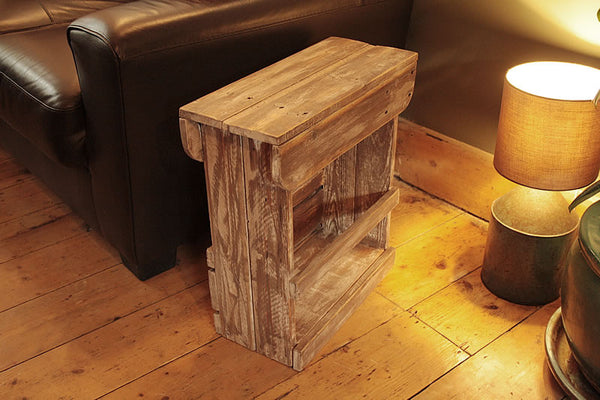 Handmade Sofa Table Bathroom Cabinet Bedside Table Shabby Chic - Arte Povera - 4