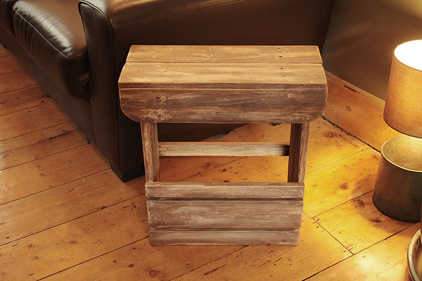 Handmade Sofa Table Bathroom Cabinet Bedside Table Shabby Chic - Arte Povera - 6