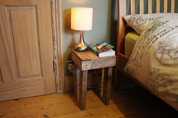 Stools Side Tables Bedside Tables Made With Pallet Wood - Arte Povera - 2
