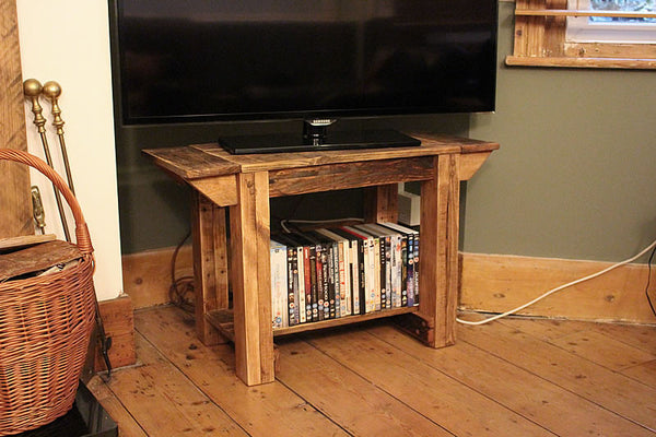 TV Stand Alcove Bench Coffee Table Made With Pallet Wood - Arte Povera - 3