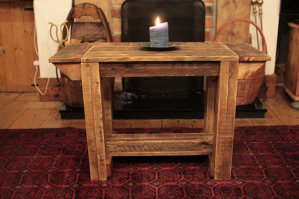 TV Stand Alcove Bench Coffee Table Made With Pallet Wood - Arte Povera - 2