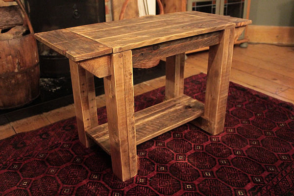 TV Stand Alcove Bench Coffee Table Made With Pallet Wood - Arte Povera - 4