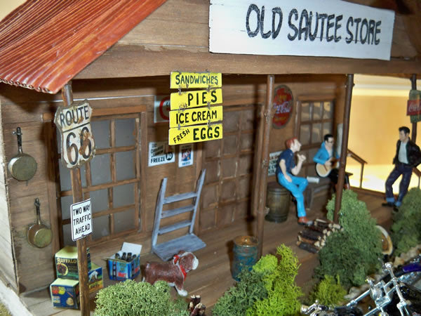 Old Sautee Store - Scale 1/18