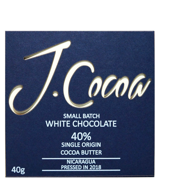 40% White Chocolate