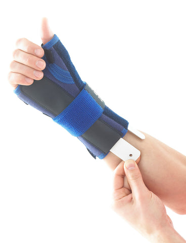 Stabilized Wrist and Thumb Brace