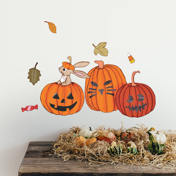 Boo's Halloween Wall Stickers