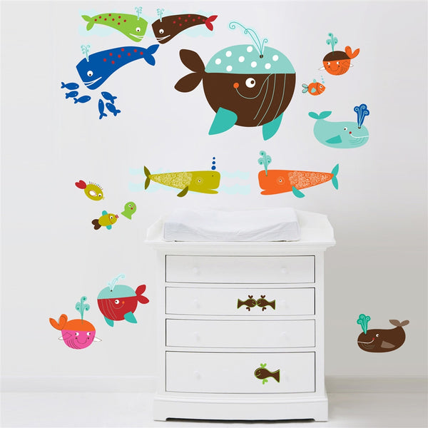 Whales Wall Stickers