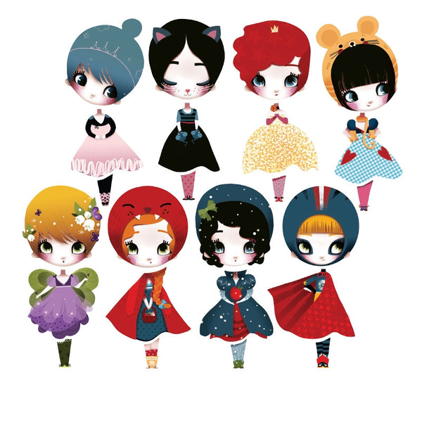 Dolls Wall Stickers