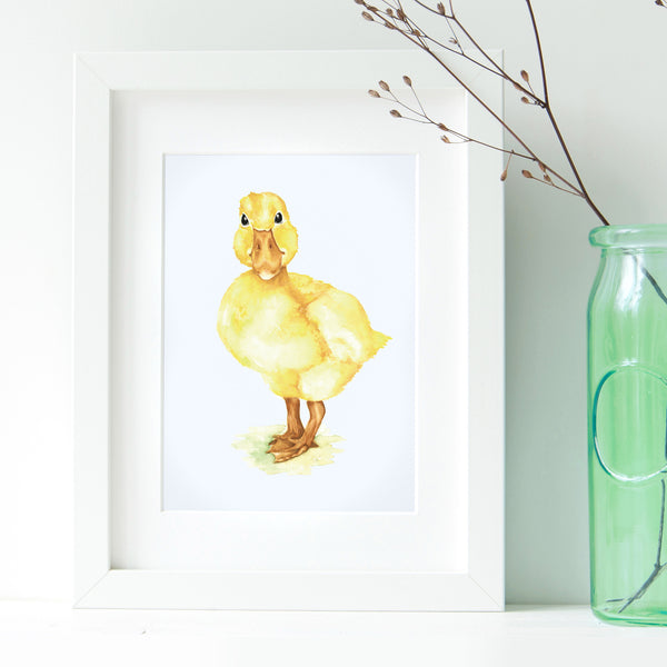 Duckling Print