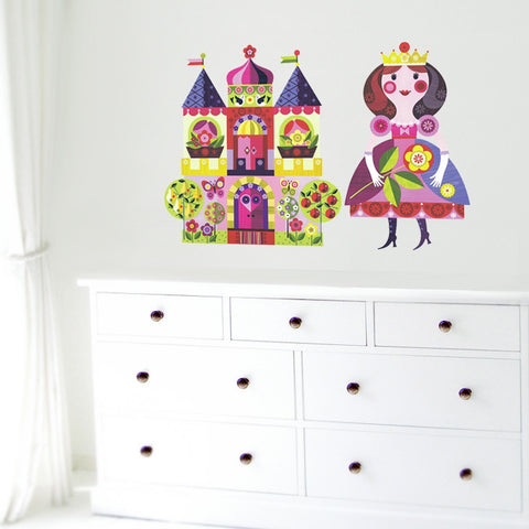 Princess & Castle Wall Stickers