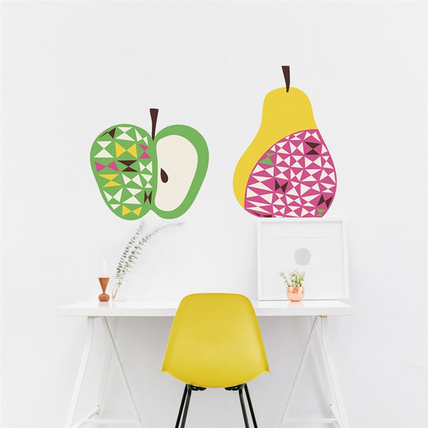 Apple & Pear Wall Stickers