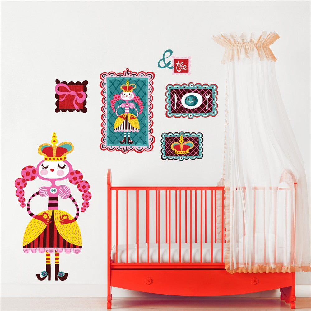 Princess Wall Stickers,  Princess & The Pea