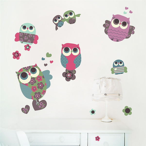 Owls Wall Stickers
