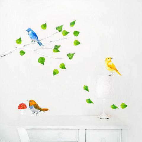 Branch & Birds Wall Stickers