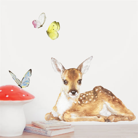 Little Fawn Wall Stickers