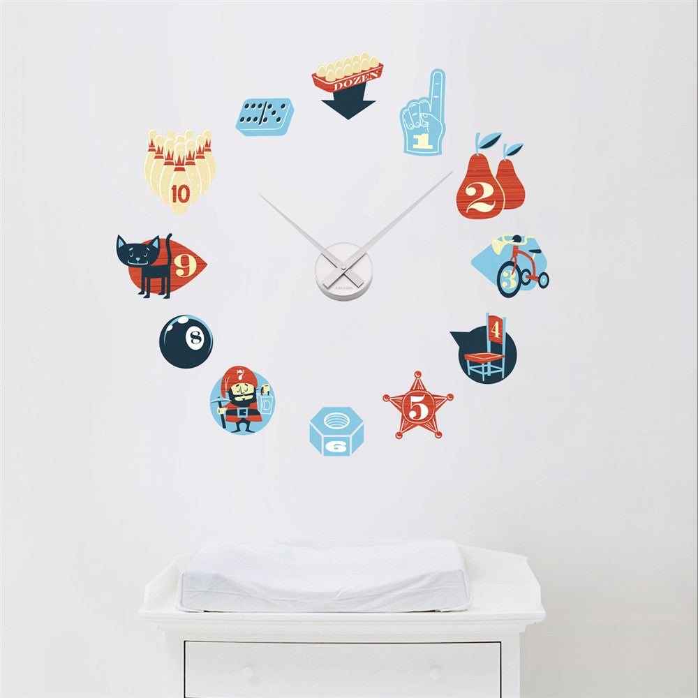 Counting Clock, Clock & Stickers