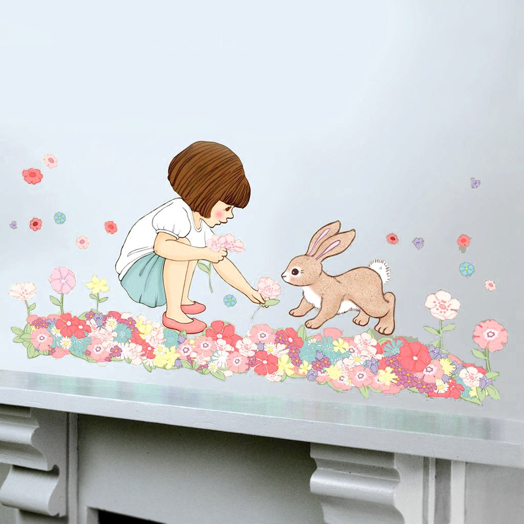 Belle's Meadow Wall Stickers