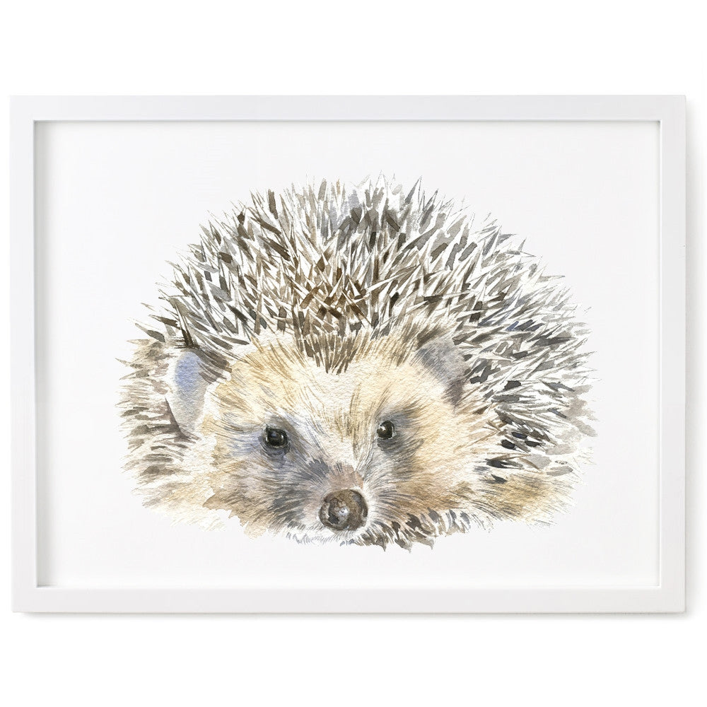 Hedgehog Print, Dad Hedgehog