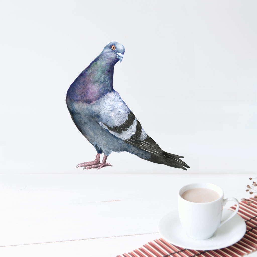 Sassy Pigeon Wall Decal