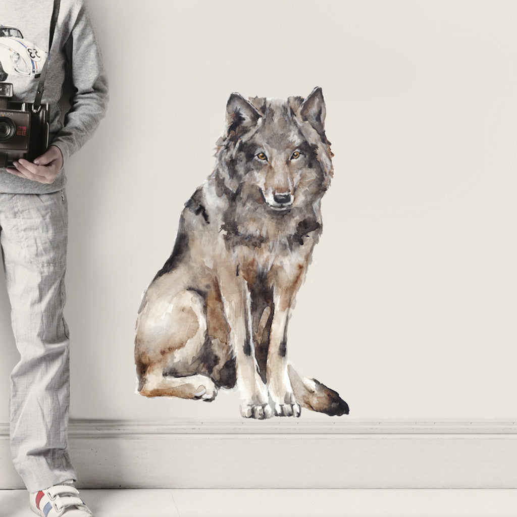 Wolf Wall Sticker