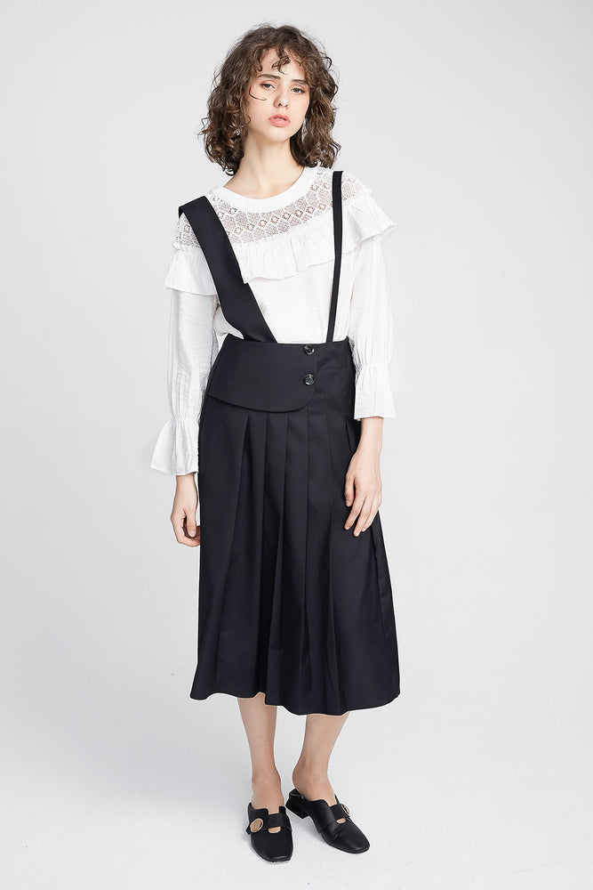 Pleat Overall