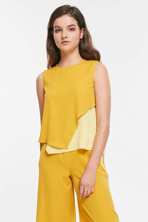 Bold Color Sleeveless Top